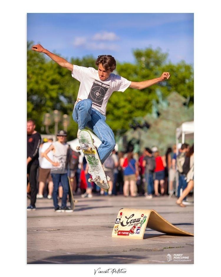 Ride, jump, repeat - skaters, skateboarding - funkyporcupine   ello