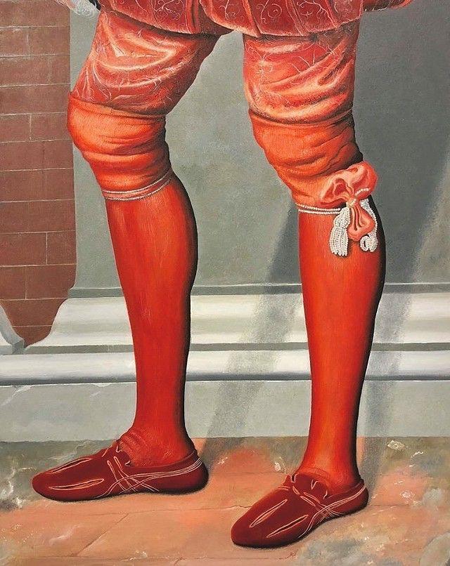 Clothes Moroni) Oil canvas 76,2 - elio_ticca | ello