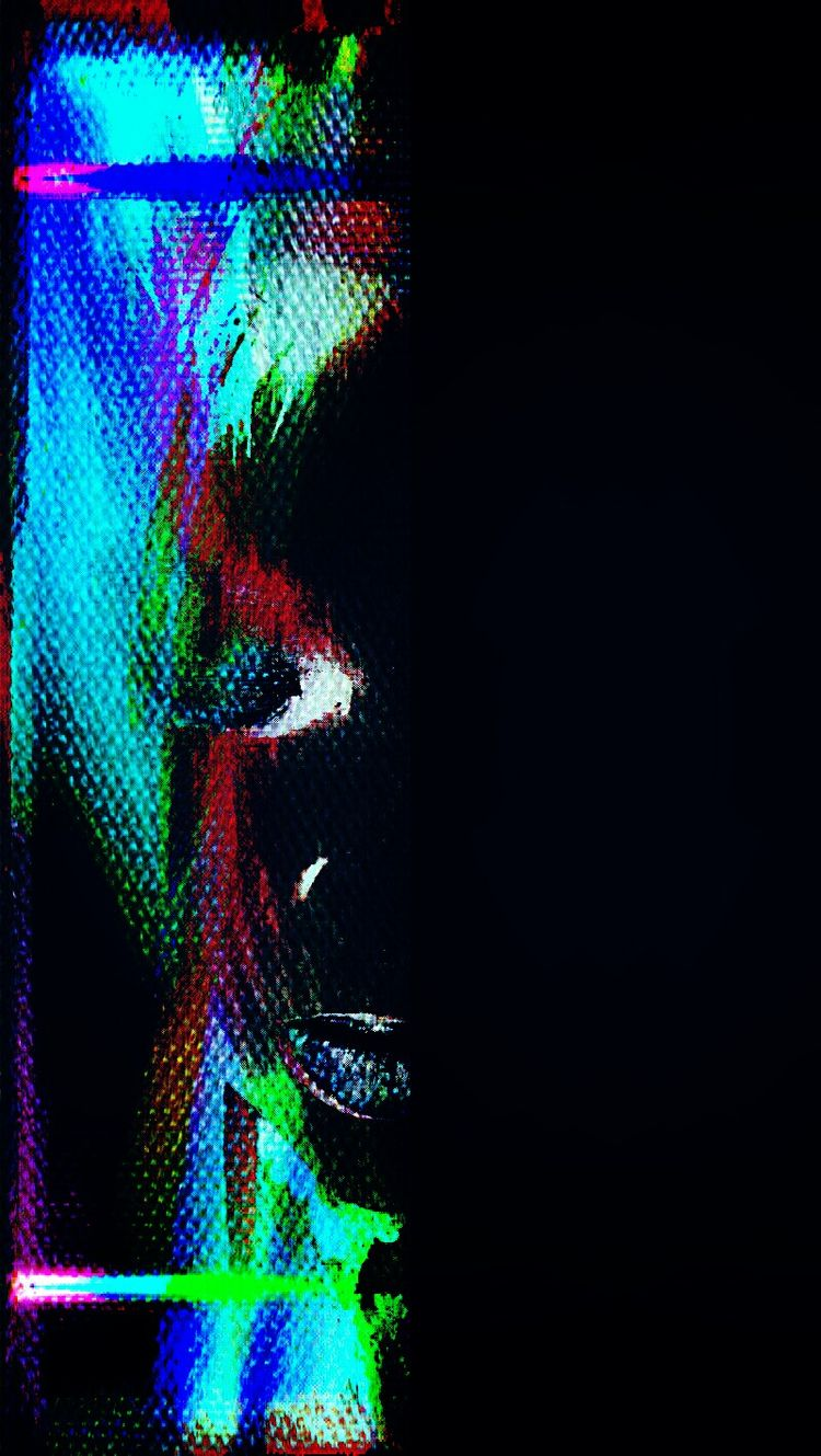 Splash Color Illuminates Dark.  - poeticvampiress | ello
