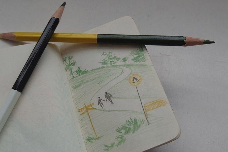 sketchbook size constrain loose - catsac | ello