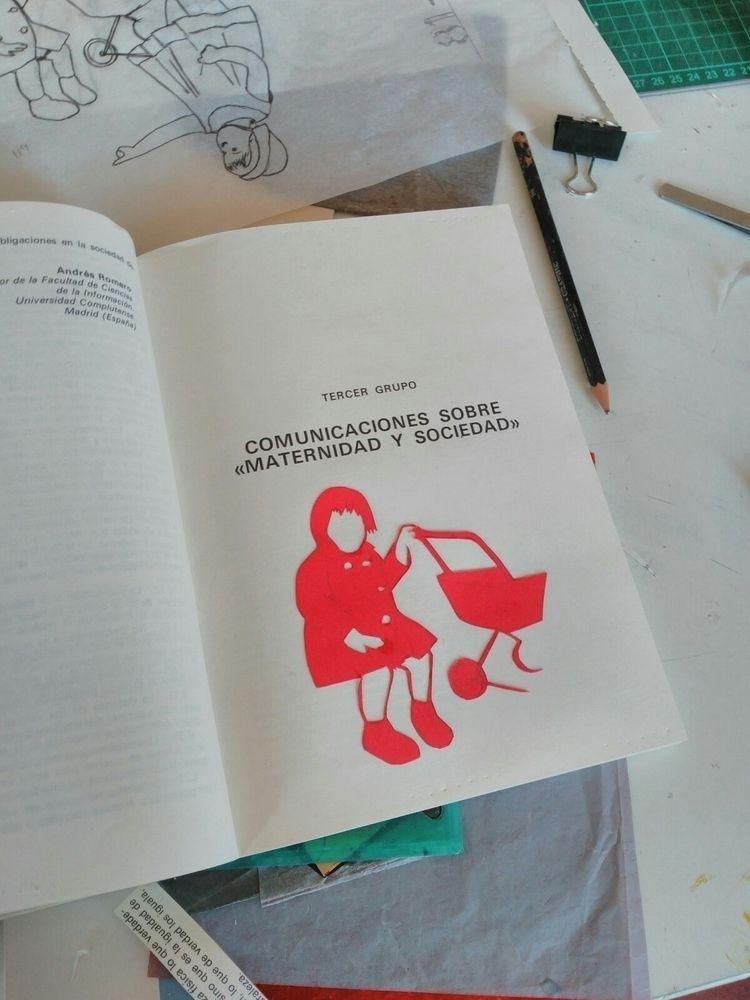 artistbook, papercut, drawing - hauering | ello