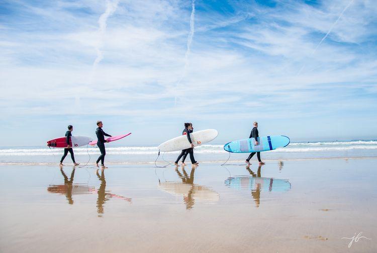 BEACH Models: surfers Lisbon Lo - jbedrovaphotography | ello