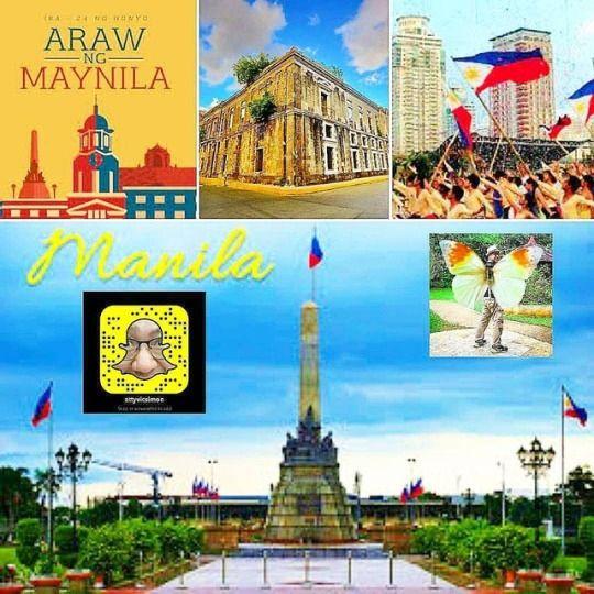 June 24, 2018: Happy Manila Day - vicsimon | ello