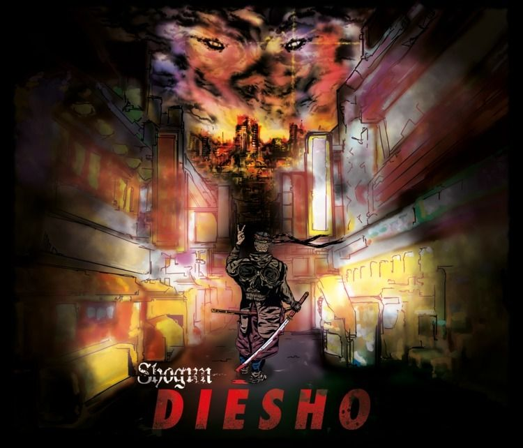 Art work released EP 'DieSho'.  - sam_howle | ello