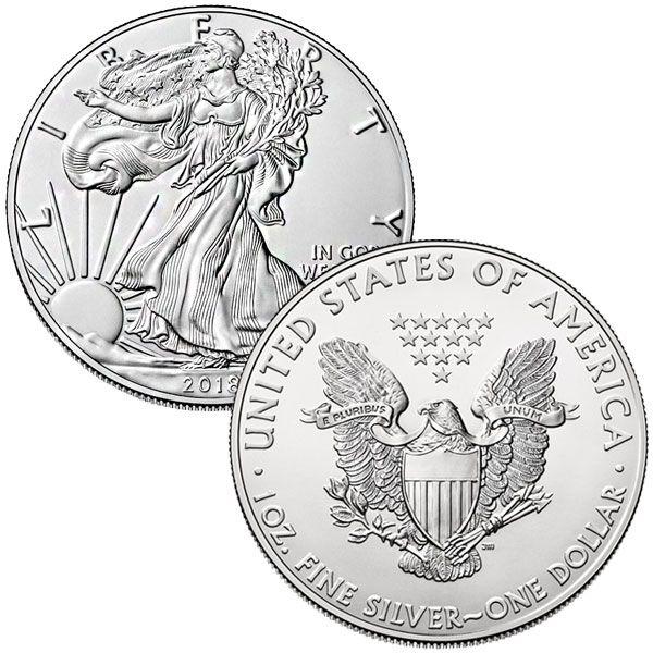 Silver American Eagle (1 Oz - 1ozsilver   ello