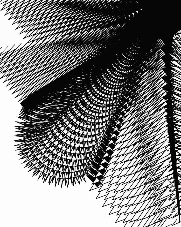 Death 10000 spikes -Digital - stevesherrell | ello