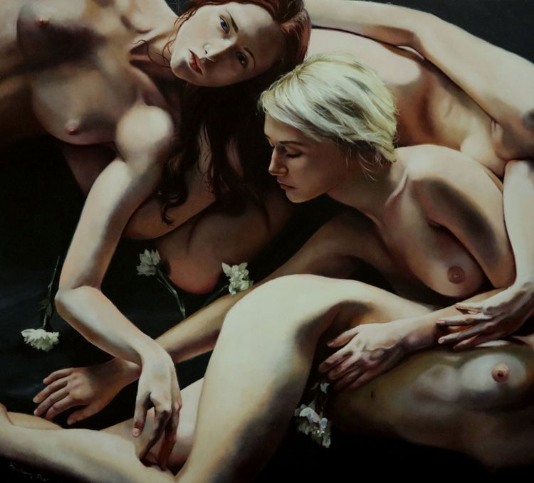 Painting Kimberly Dow Beguiled  - dulcemenendez | ello