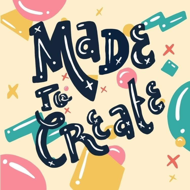 create. creative start making.  - whackoink | ello