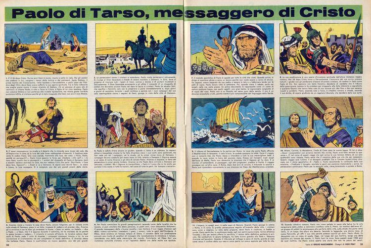 Paolo di Tarso, messaggero Cris - corrierino | ello