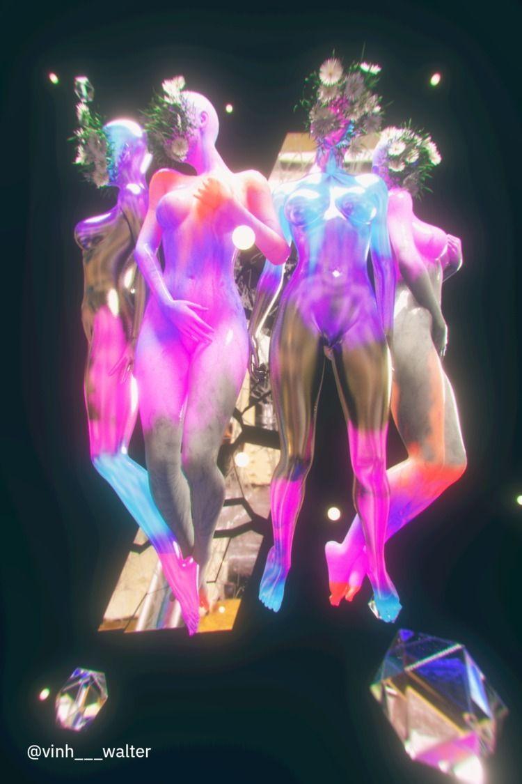 guardians - 3d, surreal, female - vinhlam | ello