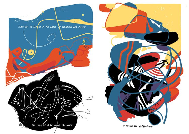 RUN HILLS' 5/7 Comic book - illustration - cesdavolio | ello