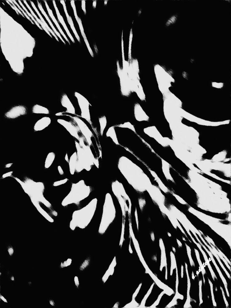 Untiteled - art, digital, blackandwhite - nadatepe   ello