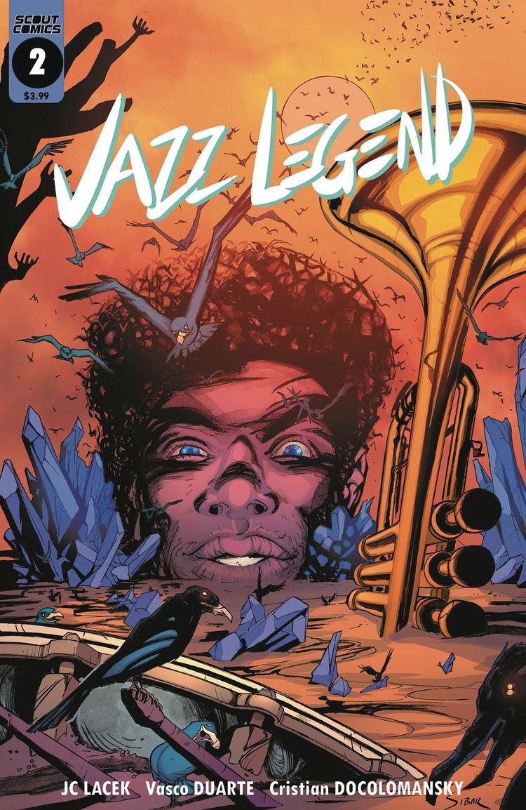 Jazz Legend Scout Comics 2018 C - oosteven | ello
