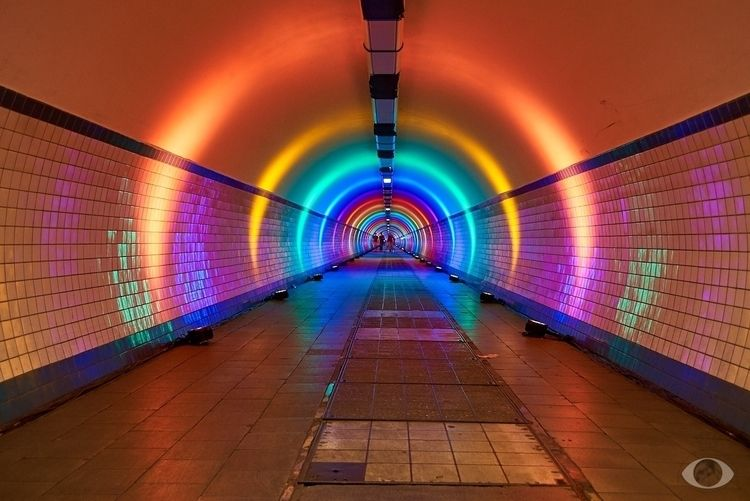 Lightshow Pedestrian Tunnel, An - pentaxke   ello