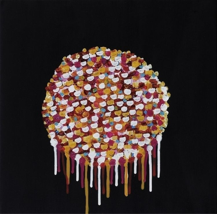 Colours II | acrylic pain canva - pauloponte | ello