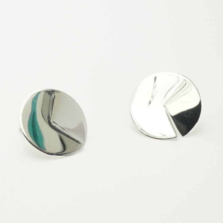 mellow, earring, silver, handcrafted - paulina_oja | ello