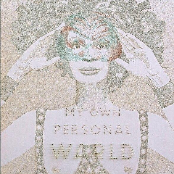 WARLD (Ingrid Thulin) Acrylic s - elio_ticca | ello