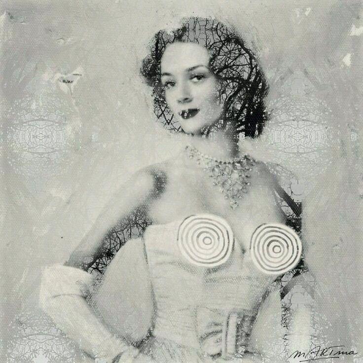 MODERN MONA LISA Niki de Saint  - martinarall | ello