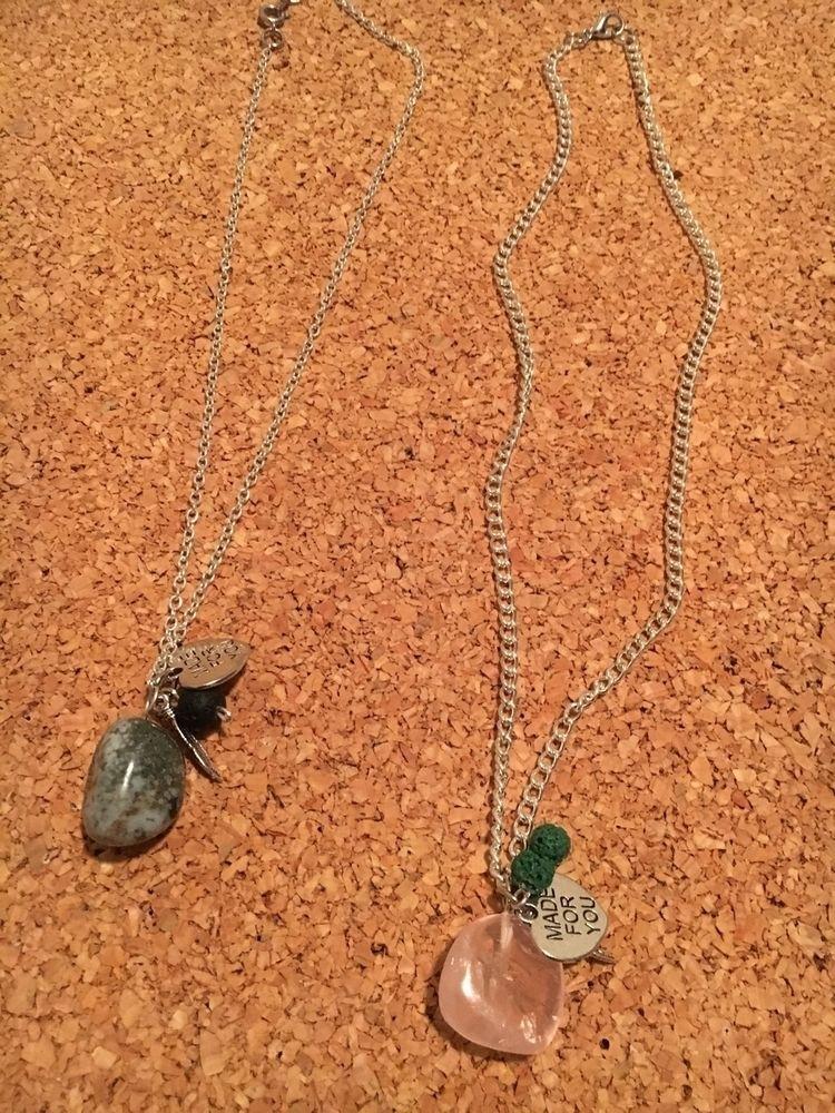 Gemstone charm necklaces $20.00 - jewelrybycee | ello