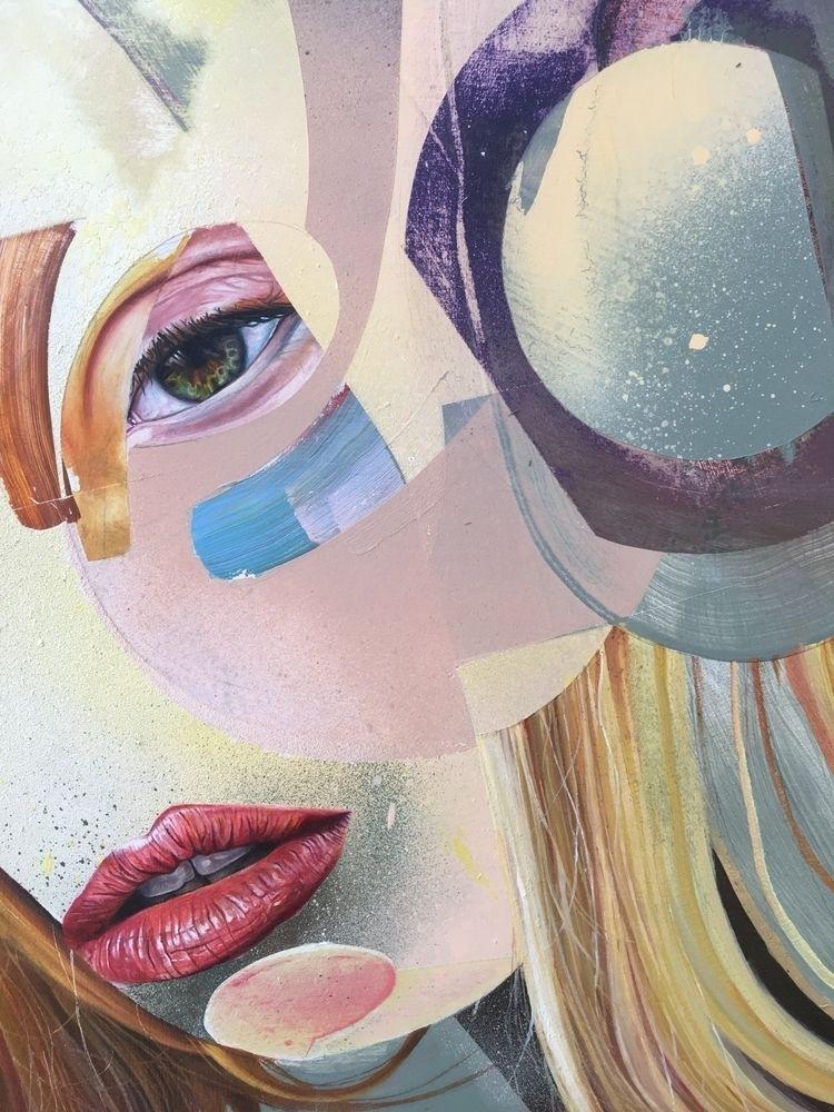 WIP - painting, spraypaint, oilpainting - davidbooth | ello