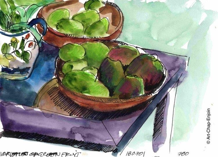 780 - Varieties green fruit Yes - artchapenjoin   ello