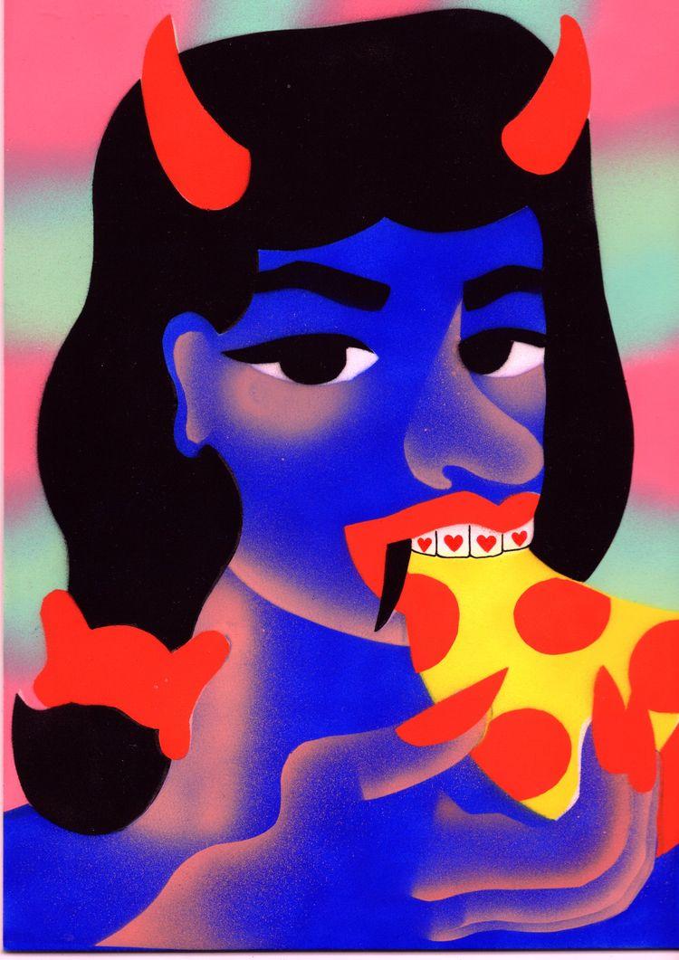 Vampire diet - magazine, art, artist - rubaneeee | ello