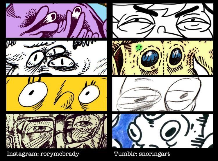 eyememe, artmeme, eyes - snoringgoose | ello
