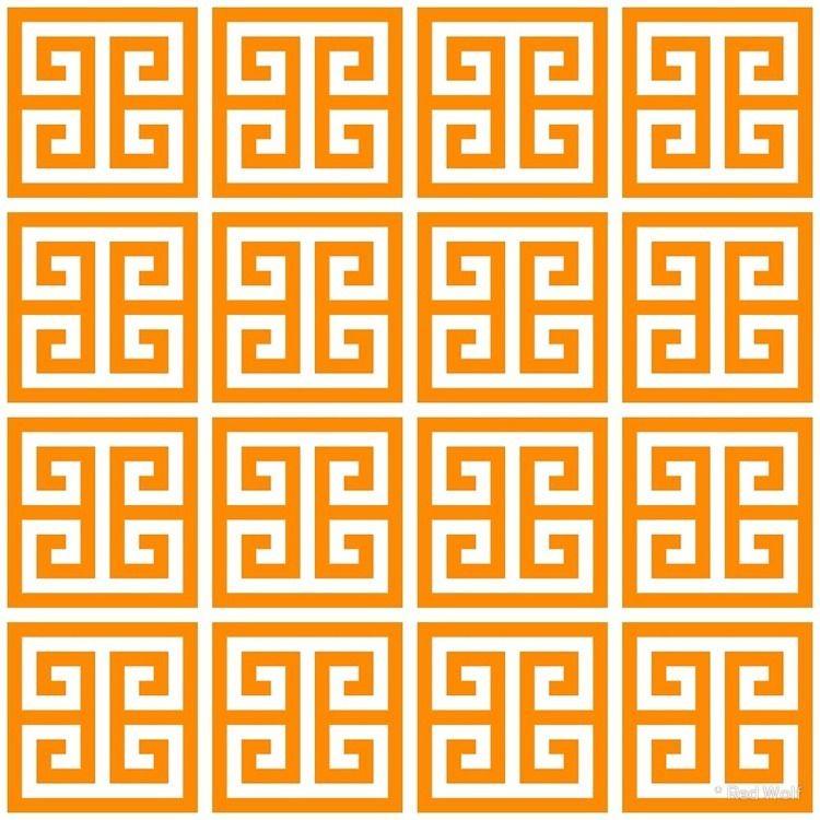 Geometric Pattern: Key Bridge:  - red_wolf | ello