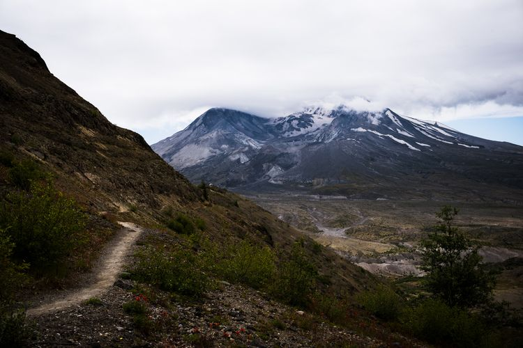 Mt St. Helens.. fully clouded - ericbird | ello