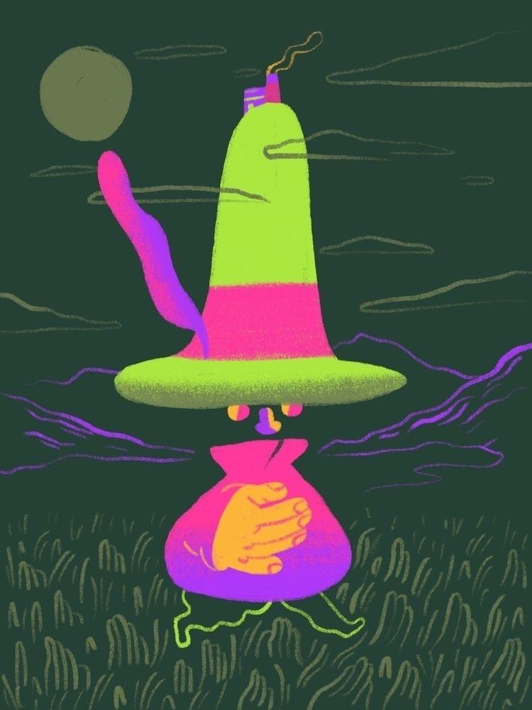 quick drawing fella big hat - scott_balmer | ello