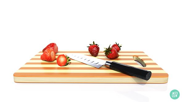 Strawberries Kitchen Set - slic - alexpoint | ello