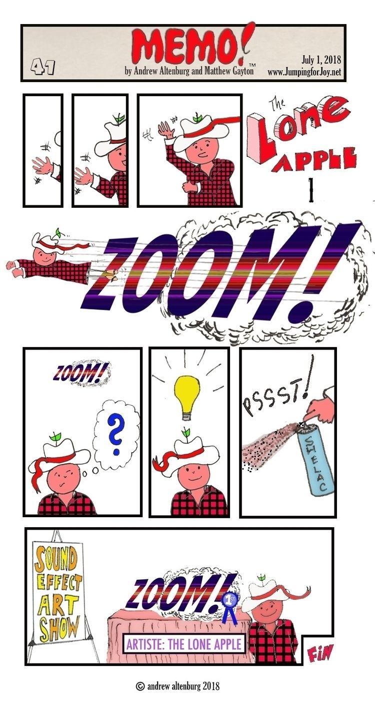 MEMO 41 - theloneapple, memos, webcomics - andrewaltenburg | ello