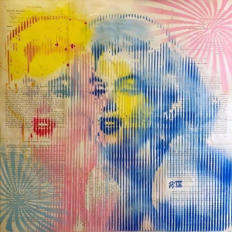 """Untitled"" . Free hand stencil  - cicerospin | ello"