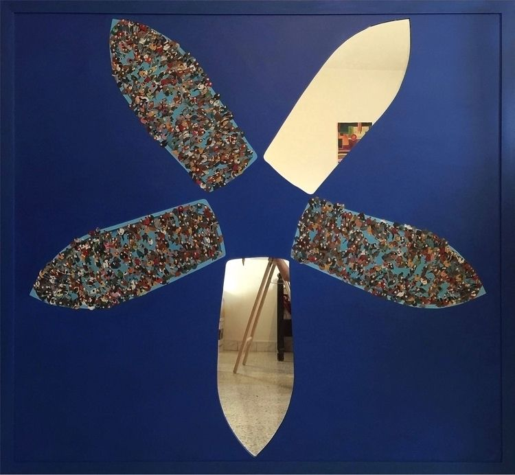 1,57/1,47 - acrylic, wood, art, immigrant - maya_tartaruga | ello