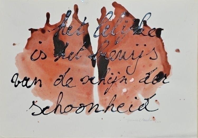 Acryl op papier. 2014 32 38 cm  - ben-peeters | ello
