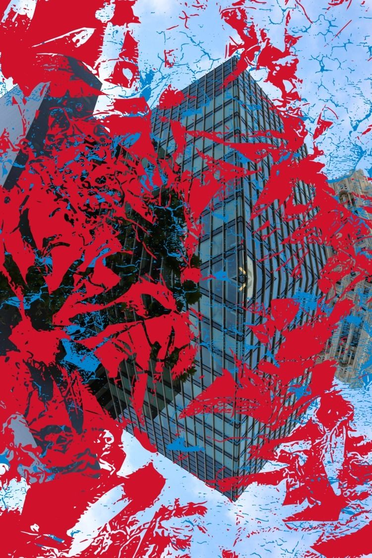 Inception Blue Red - composition - headplant | ello