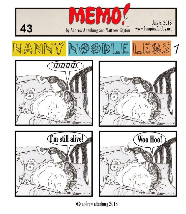 MEMO 43 - illustration,, comicstrip, - andrewaltenburg | ello