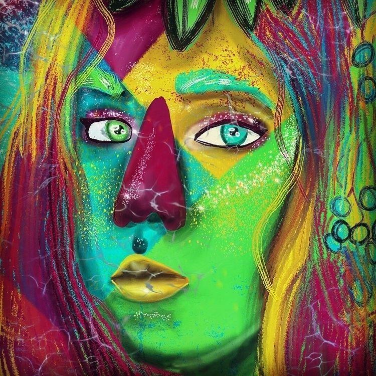 Color - art, color, Digital, digitalart - graciestudio | ello