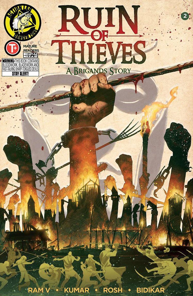 Ruin Thieves: Brigands Story Re - comicbuzz | ello