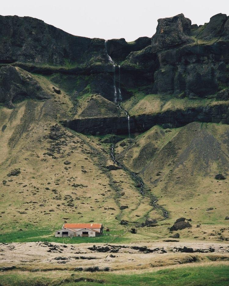 Iceland Waterfalls Portrait - Skaftafellsheidi - zekefranco | ello