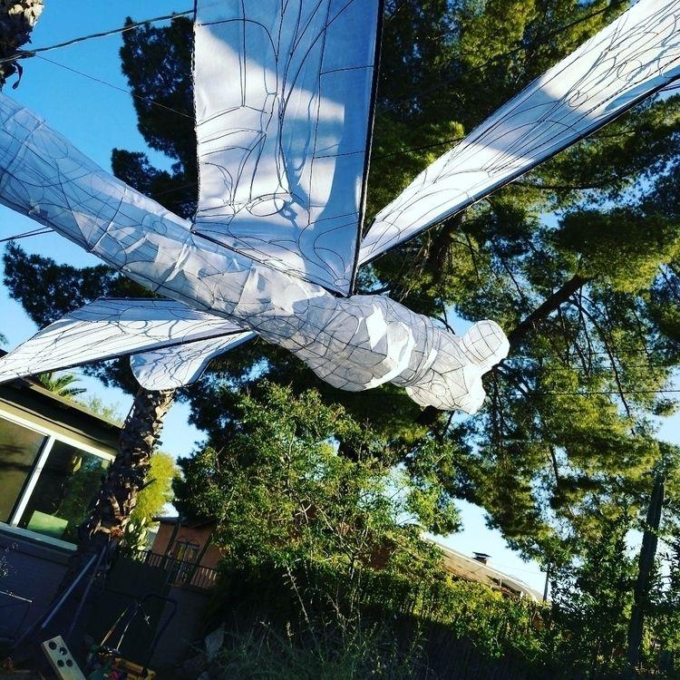 Dragonfly lantern, brazed steel - myklwells | ello