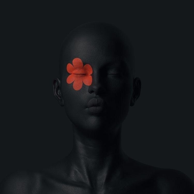 Black kiss - rendering, render, cinema4d - mattiafalo | ello