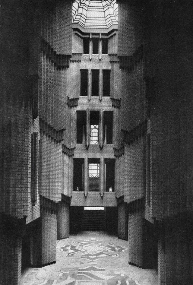 Peter Behrens, Hoechst Building - bauhaus-movement | ello