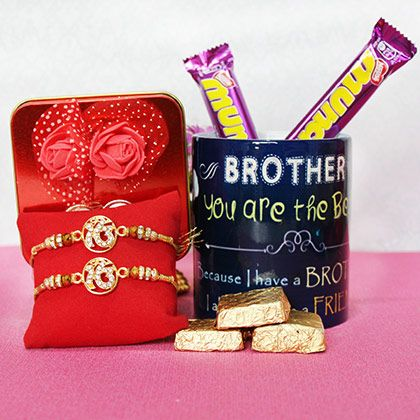 Lovely Rakhi gifts USA based Br - giftalove | ello
