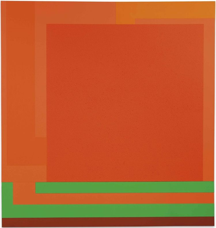 Peter Halley (American, 1953),  - modernism_is_crap   ello