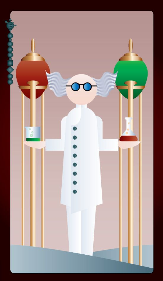 Noo Spinoolean Tarot - Chemist - spinoolean | ello