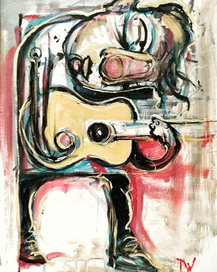 Younger Guitarist – 2018 Painte - wierz   ello