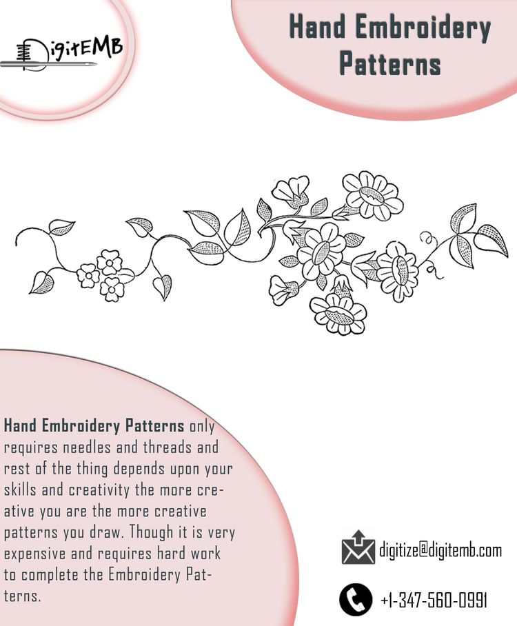 Hand Embroidery Patterns Enhanc - angelariley | ello