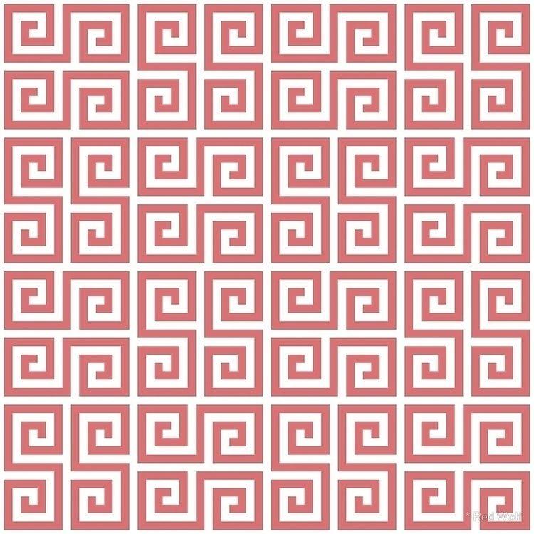 Geometric Pattern: Key Serpenti - red_wolf | ello