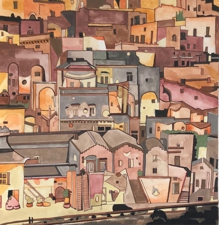Matera. Painting cityscapes exp - whitneysanford | ello